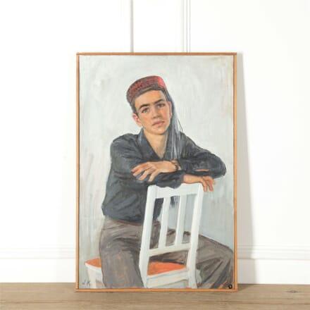 Boy in Tasselled Cap - Joan Knoblock WD287575
