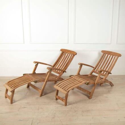 Barlow Tyrie 1980's Garden Steamer Chair GA0261412