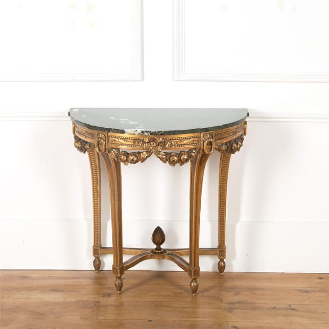 19th Century French Giltwood Pier Console Table CO0362644