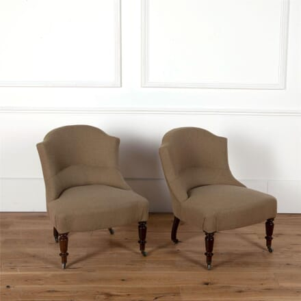 French Slipper Chairs CH6362020