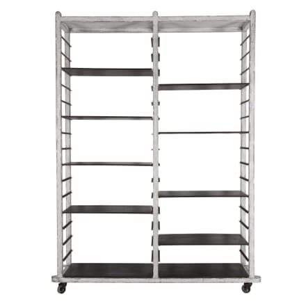 21st Century Bakers Rack on Wheels OF357180