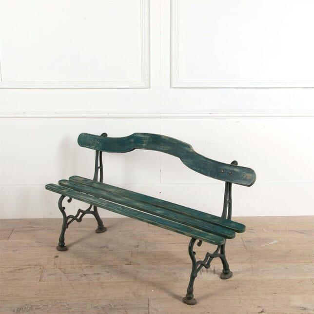 French Iron Garden Bench GA1561224