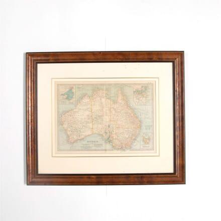 1902 Map of Australia WD287586