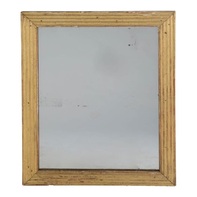 19C Reeded French Mirror MI016878