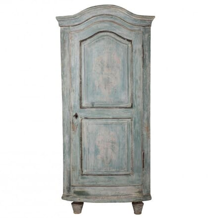 Bow Fronted Corner Cupboard CU011899
