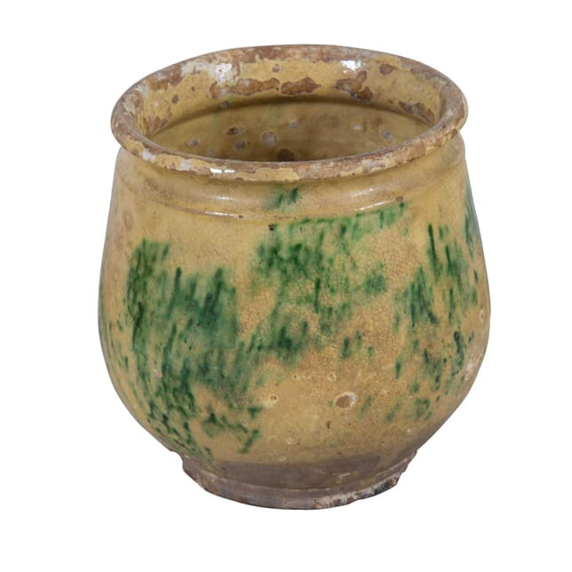 Small Provencal Glazed Pot DA0110940