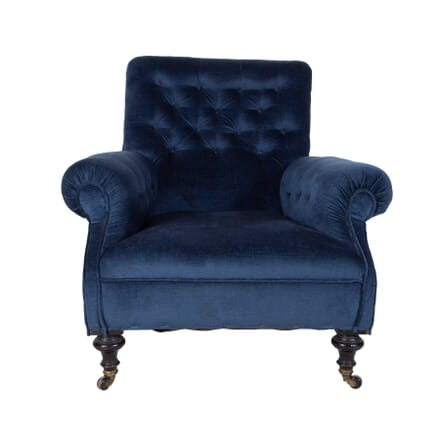 Large Single Howard Style Button Back Armchair CH2360372