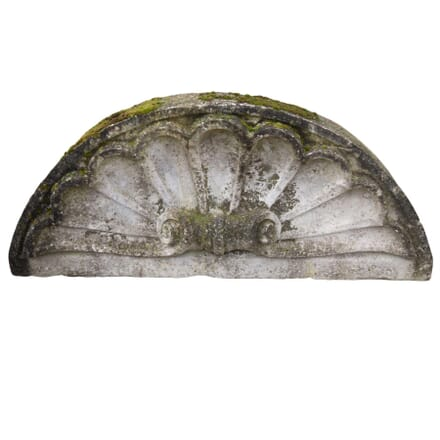 19th Century Carved Stone Shell GA4255365