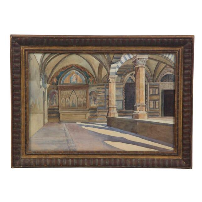 Florentine Church Interior WD2855301