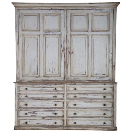 Late 19th Century Cupboard on Chest CU995384