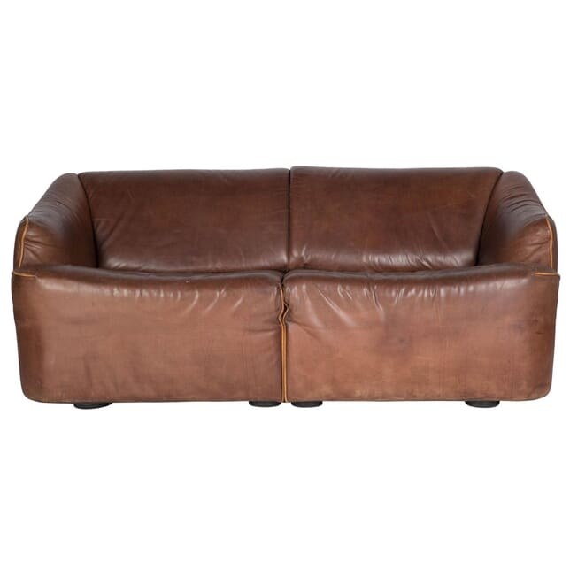 Mid Century Leather Sofa by Asko SB2210109
