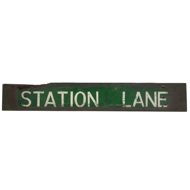 1950s Station Road Sign DA2011106