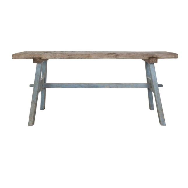 French Oak Trestle Table TS0457183