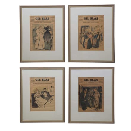 Late 19th Century French Newspaper Covers DA9057389