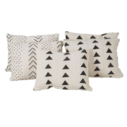 African Mud Cloth Cushion RT0159684