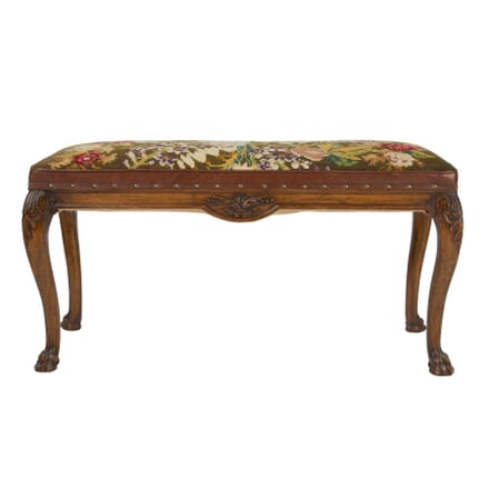 Tall Needlework Footstool ST5557730