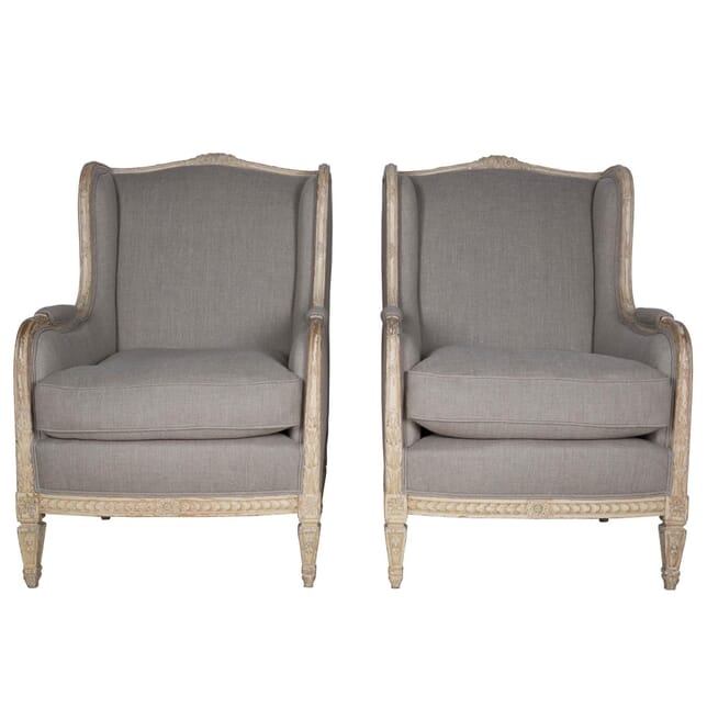 Pair of Large Bergeres CH173938