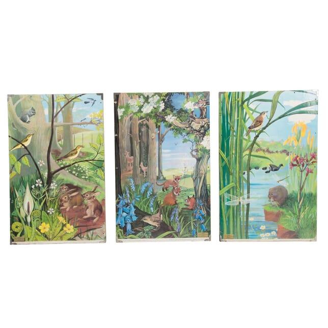 Six Double Sided School Prints WD0813585