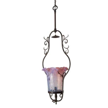 Art Noveau Harp Lamp LC2112450