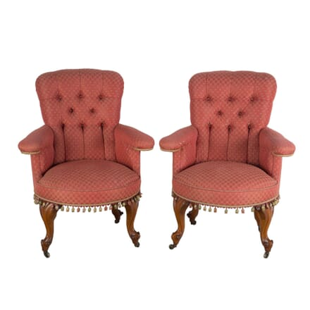 Pair of Library Chairs CH4753897