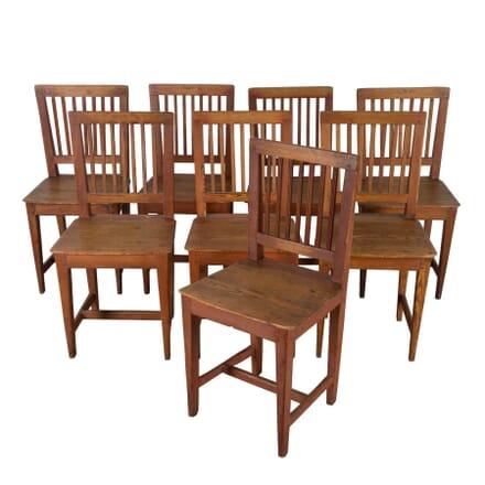 Set of Eight 19th Century Swedish Dining Chairs CD9960482