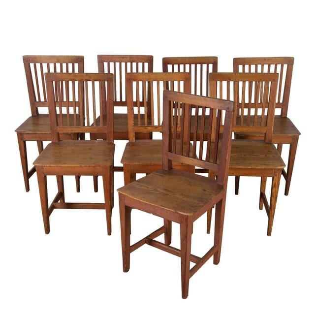 Set of Eight 19th Century Swedish Dining Chairs CD9960482
