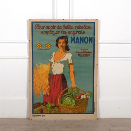 Vintage 'Manon' Poster WD1561849