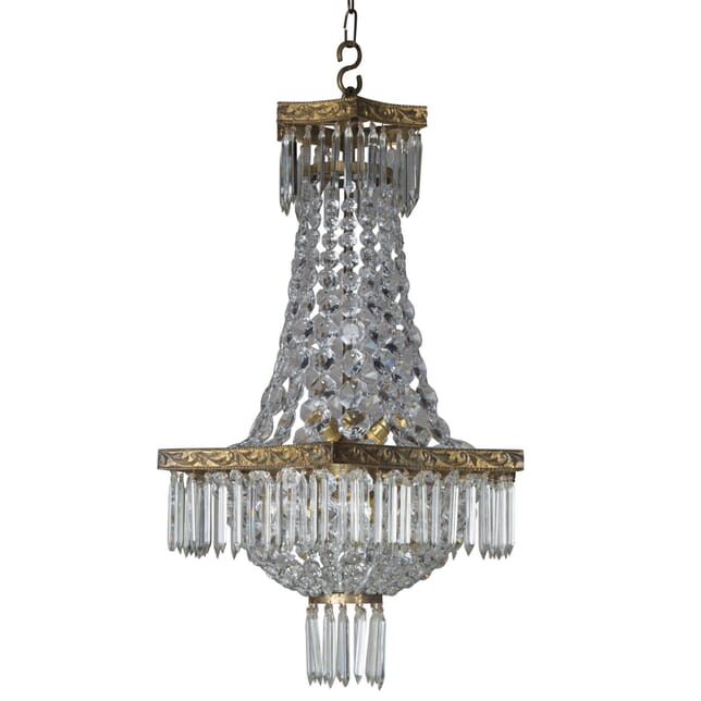 1920s Scalloped Chandelier LC2154596