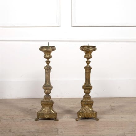 Pair of Neo-Classical Pricket Sticks DA1561851
