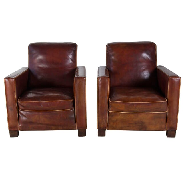 Art Deco Style Club Chairs CH1556258