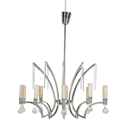 Chic 1960s French Chandelier LC017670