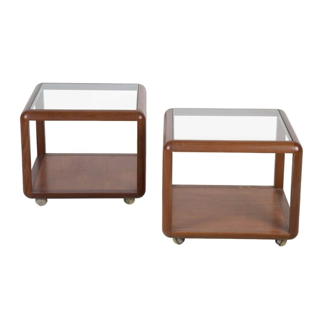 Modernist Teak Lamp Tables TS0513509