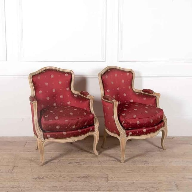 Classic Pair of French Armchairs CH5262315