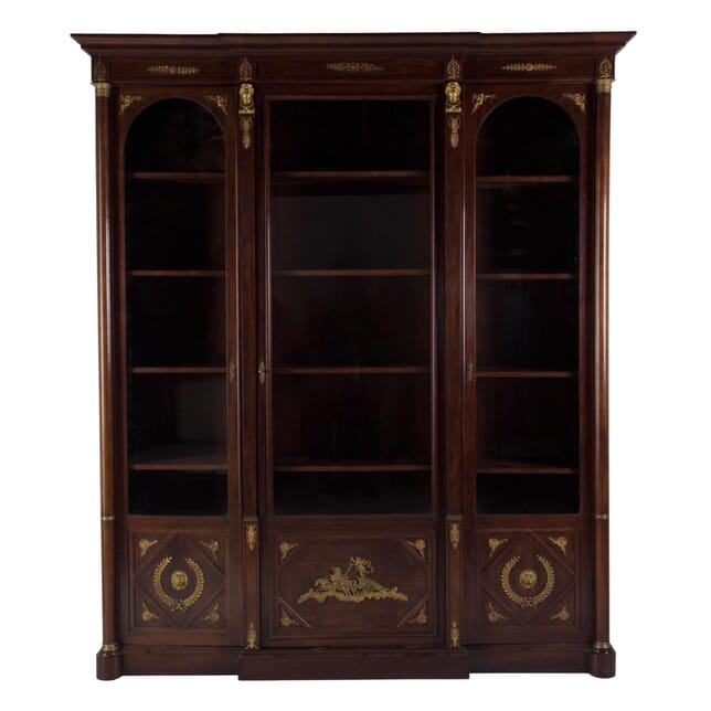 Mahogany and Ormolu Bookcase BK4710720