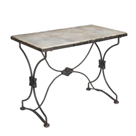 Marble Topped Garden Table c.1890 TC5113175