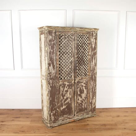 French Lattice Front Cupboard CU7161160