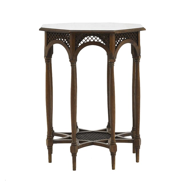 Early 20th Century Oak Octagonal Occasional Table TC0662267