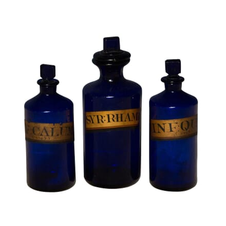 Set of Three Chemist Bottles DA3555711