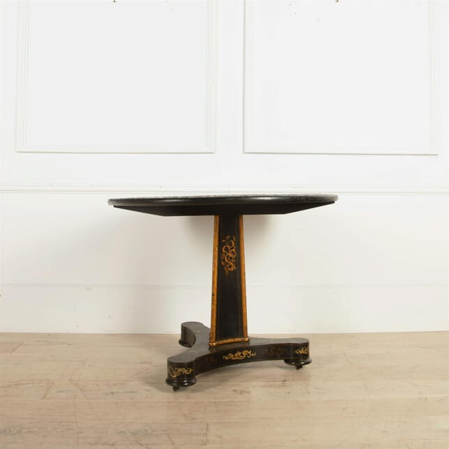 French Tilt Top Chinoiserie Centre Table TC7461602