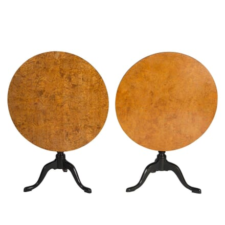 Pair of Swedish Tilt Top Tables TC5112811