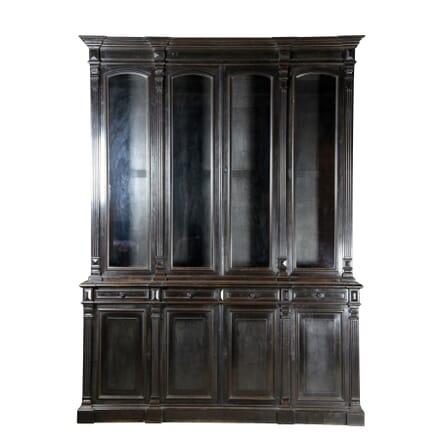 French Ebonised Bookcase BK170729