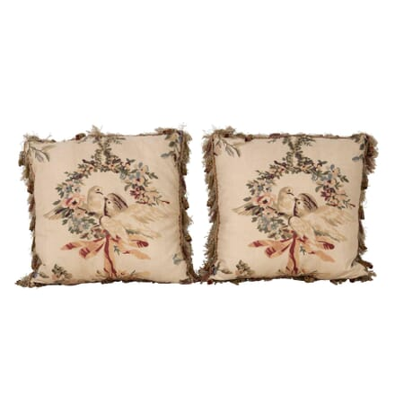 Pair of Kissing Doves Cushions RT1560393