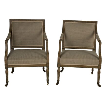 Pair of Early 19th Century English Fauteuils CH0159876