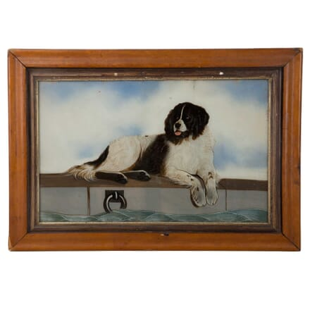 Dog Painting on Glass WD1359793