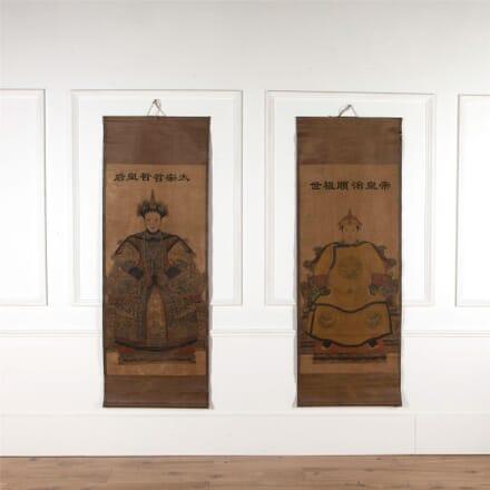 Chinese Ancestor Scrolls WD0154698