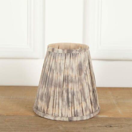 18cm Grey Silk Lampshade LS6661383