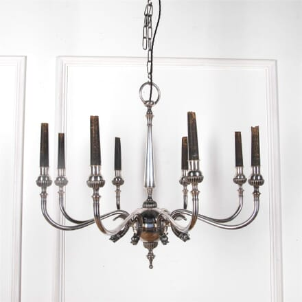 Elegant Silver Plated Eight Arm Chandelier LC2162112