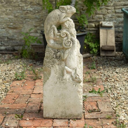 20th Century Carved Stone Statue GA1962571