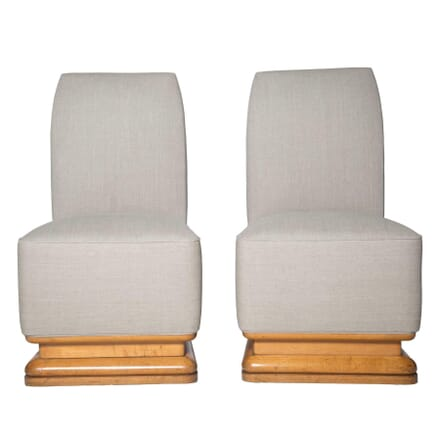 Pair of Art Deco Chairs CH1755194