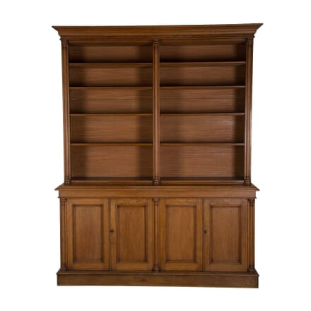19th Century Oak Library Bookcase BK1055493